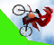 Adrenaline Challenge  -  Race your BMX bike around a crazy course full of ramps and jumps that will have you doing mid-air back flips! Adrenaline Challenge is one of our most popular games ever.