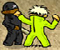 Crazy Flasher v3  -  Fight your way through the levels to earn money and buy better weapons.