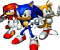 Sonic The Hedgehog  -  This is an amazing flash version of Sonic the Hedgehog, almost exactly like the original one!